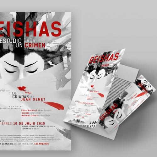 Geishas - Theatre play identity