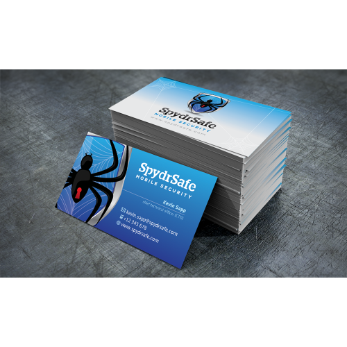 Spydr Safe Business Card