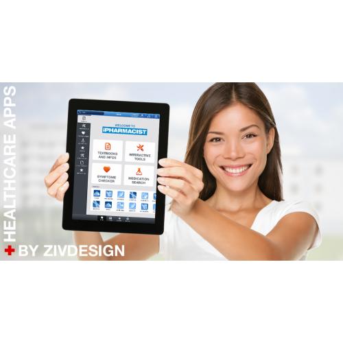 Pharmacy app for iPad