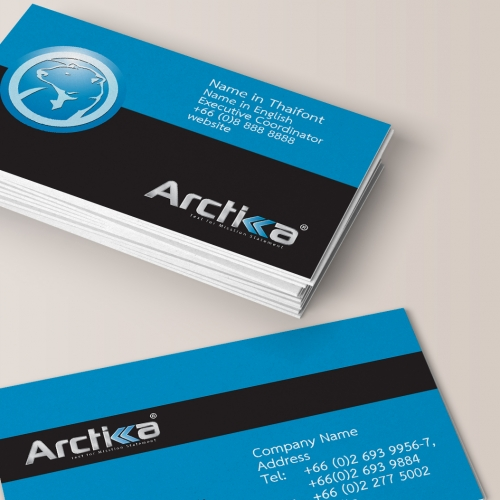 Business card deign