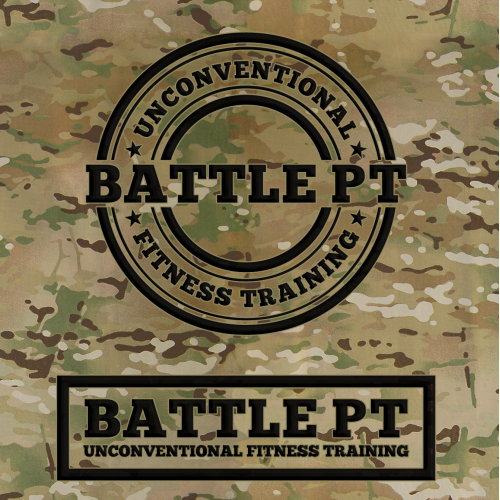 BATTLE PT Logo design