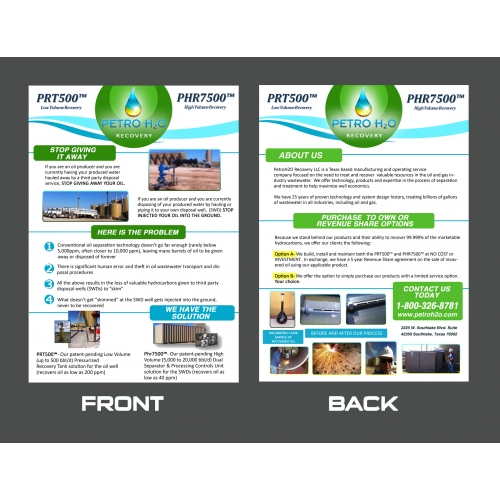 Brochure Design for Petro
