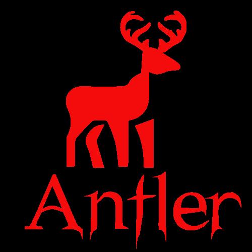 hUNTING lOGO FOR ANTLER