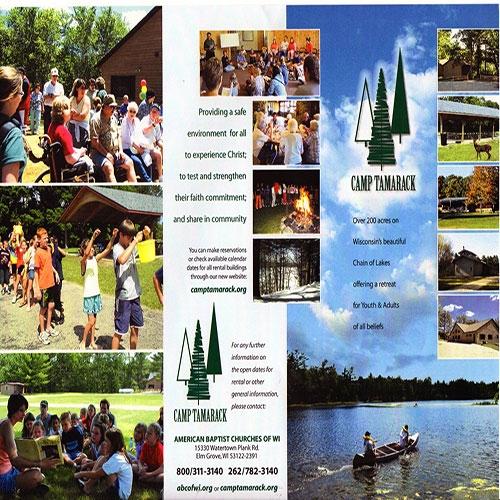Camp Tamarack Flyer