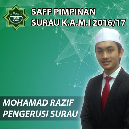 Saff Pimpinan Surau K.A.M.I