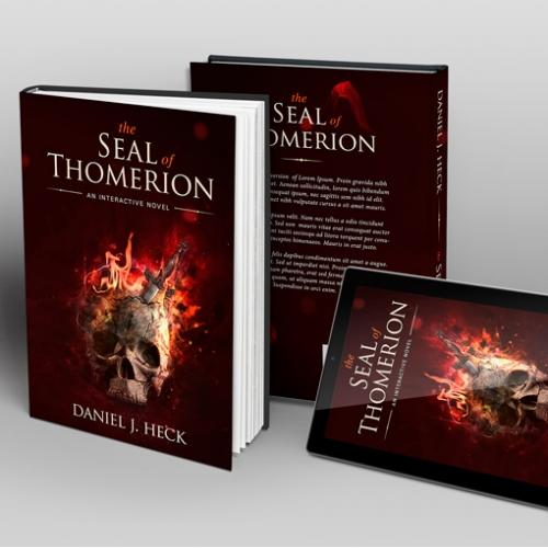 Skull Fantasy Book Cover