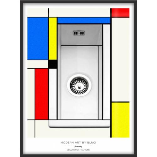 Bluci Modern Art Advert